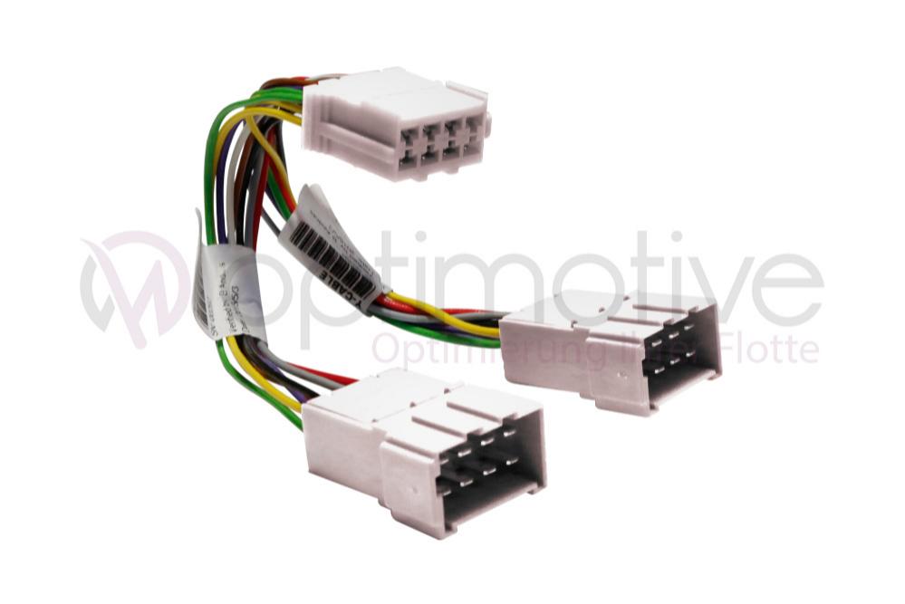 Tachograph Y-Kabel A, weiß
