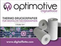 6 Rollen Thermo Druckerpapier für Digitalen Tachographen